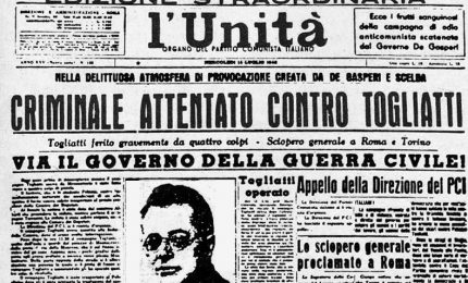 L'attentato a Palmiro Togliatti