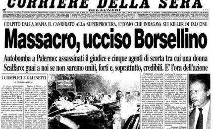 La strage di via D'Amelio – Roma bombardata – La rivoluzione sandinista