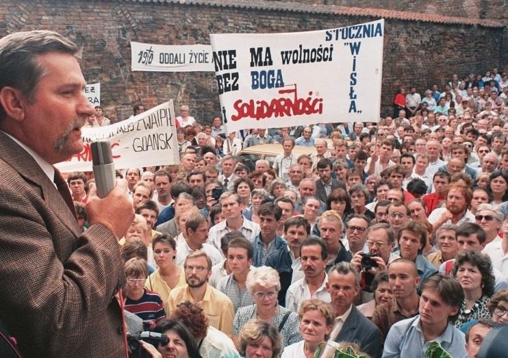 Lech Wałęsa e gli scioperi di Danzica