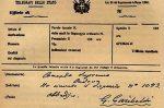 Il telegramma di Garibaldi a La Marmora