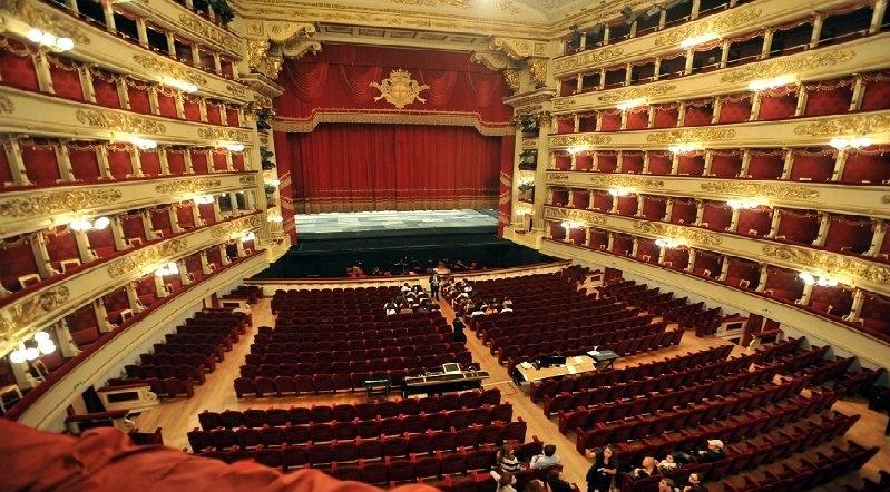 L'inaugurazione del Teatro alla Scala