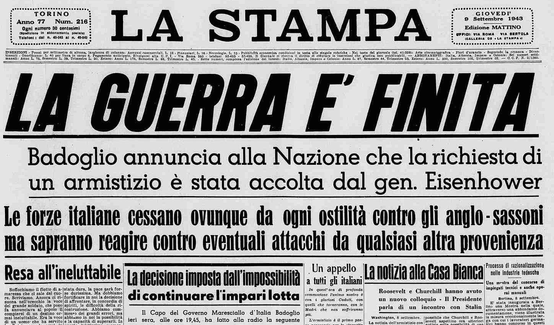 L'armistizio dell'Italia – L'omicidio di Pippo Calderone – La prima puntata di Star Trek