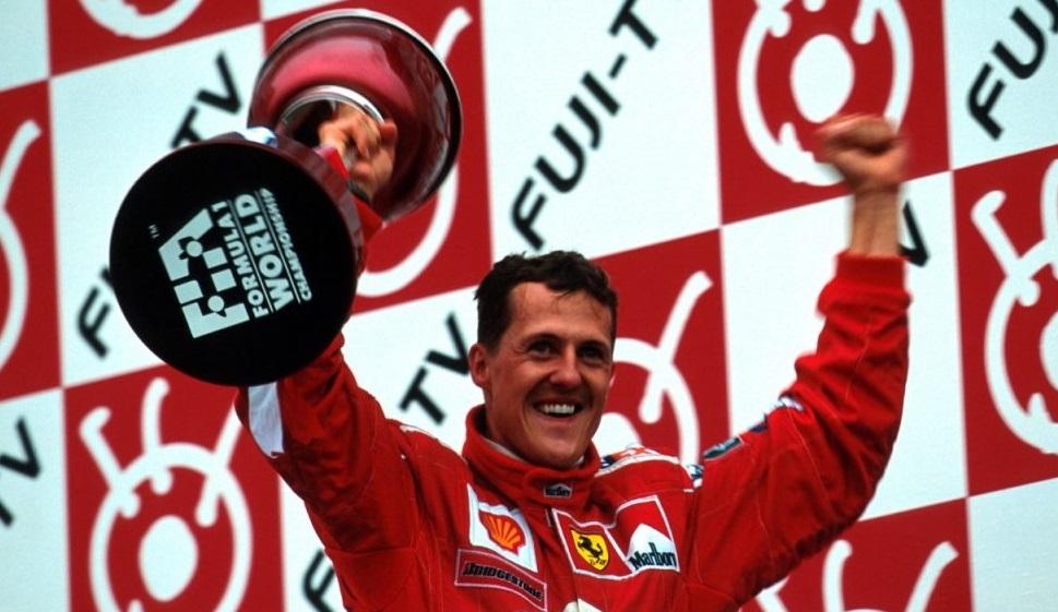 Schumacher riporta la Ferrari alla vittoria
