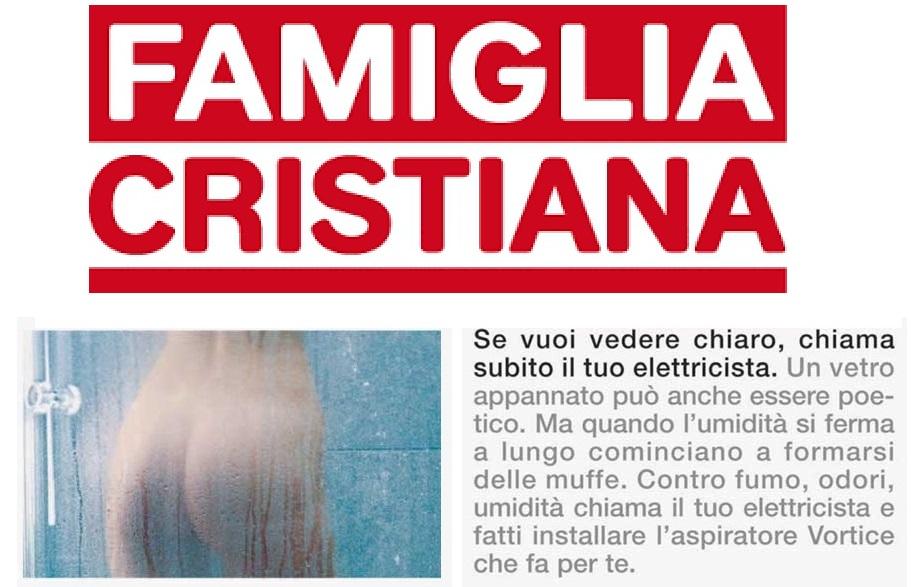 Il nudo su Famiglia Cristiana