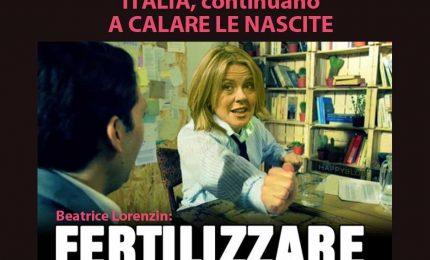 In Italia continuano a calare le nascite