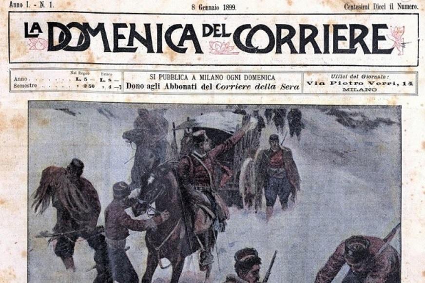 Il primo numero della Domenica del Corriere