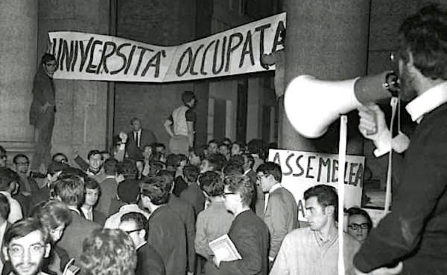 La prima occupazione studentesca