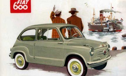 Presentata la Fiat 600 – Nasce la Legione Straniera – L'omicidio di Placido Rizzotto