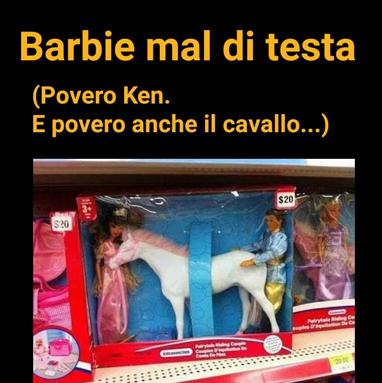 Barbie mal di testa