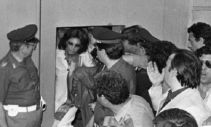 L'arresto di Sophia Loren