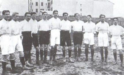 La prima partita della Nazionale