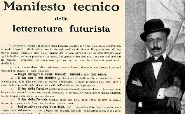 Il Manifesto tecnico della letteratura futurista