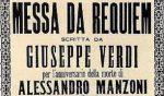 Il Requiem di Verdi per Manzoni