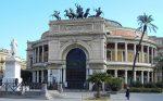 L'inaugurazione del Teatro Politeama di Palermo