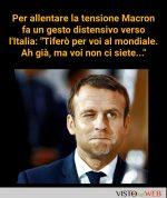 Macron: che insolente!