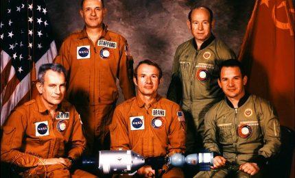 L'aggancio nello spazio tra Apollo e Soyuz