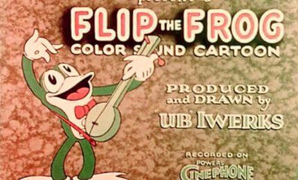 Il primo cartone animato sonoro a colori
