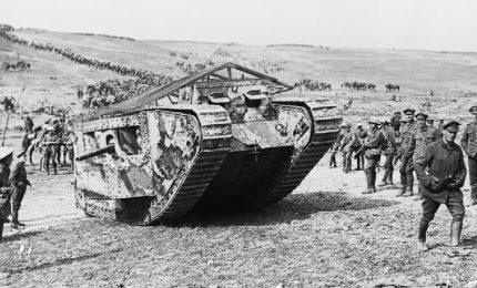 Il primo carro armato