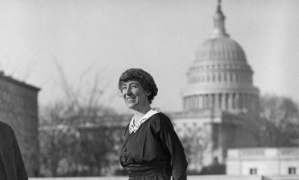 La prima donna nel Congresso degli Stati Uniti