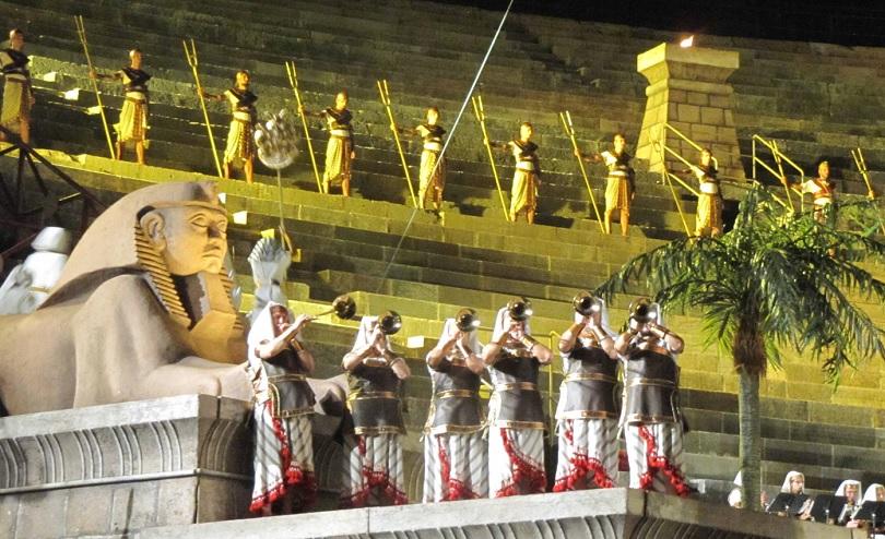 Il debutto dell'Aida