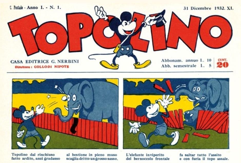 Il primo numero di Topolino