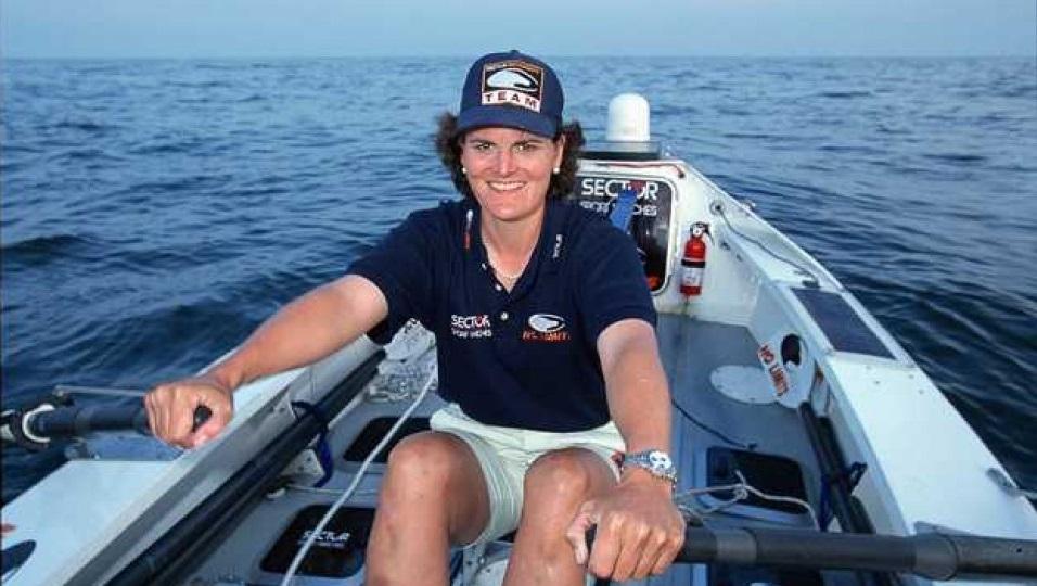 La donna che traversò l'oceano a remi