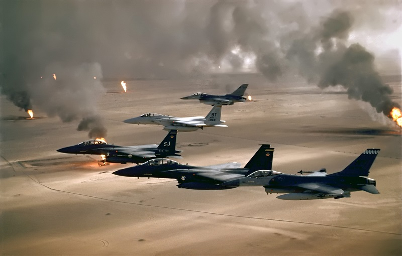 Inizia l'Operazione Desert Storm