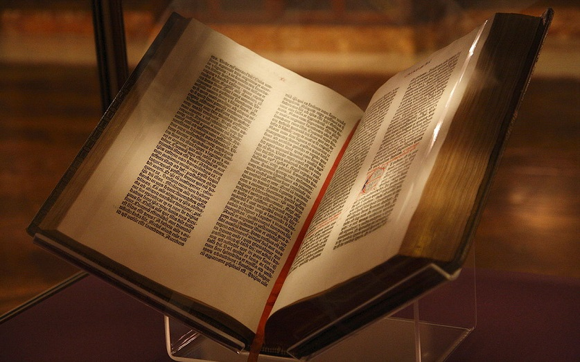 La storica Bibbia di Gutenberg – Brevettato il motore Diesel – Nasce il progetto Mozilla