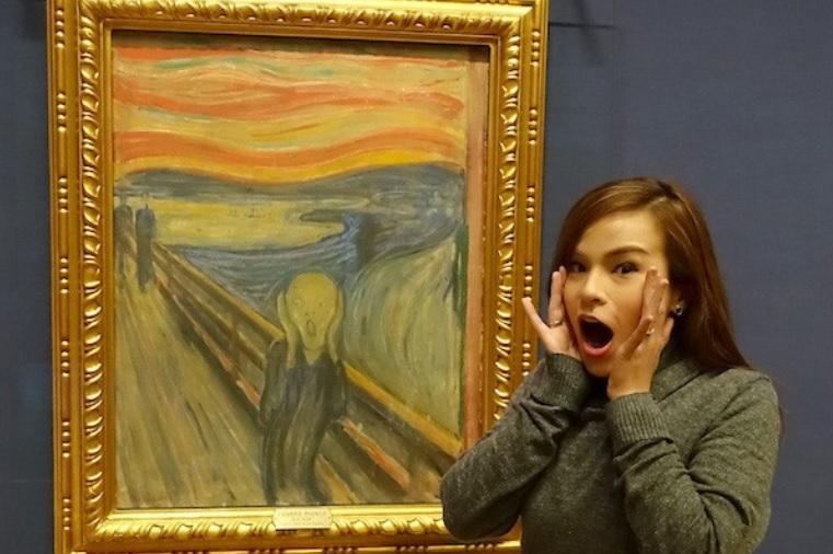 Il furto dell'Urlo di Munch