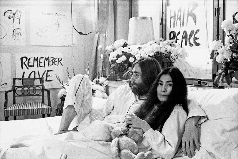 La luna di miele di John e Yoko