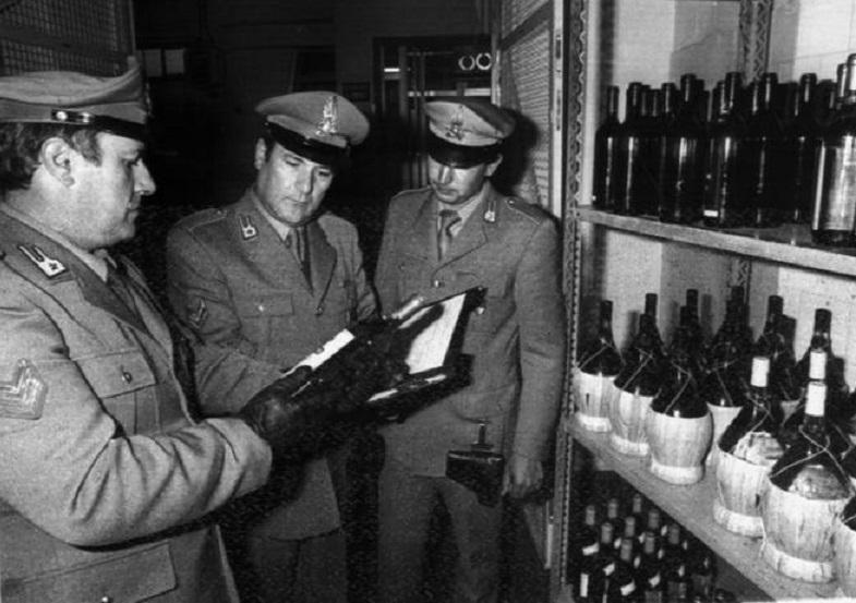 Lo scandalo del vino al metanolo – L'Unità d'Italia – Lo storico scoop di Paese Sera