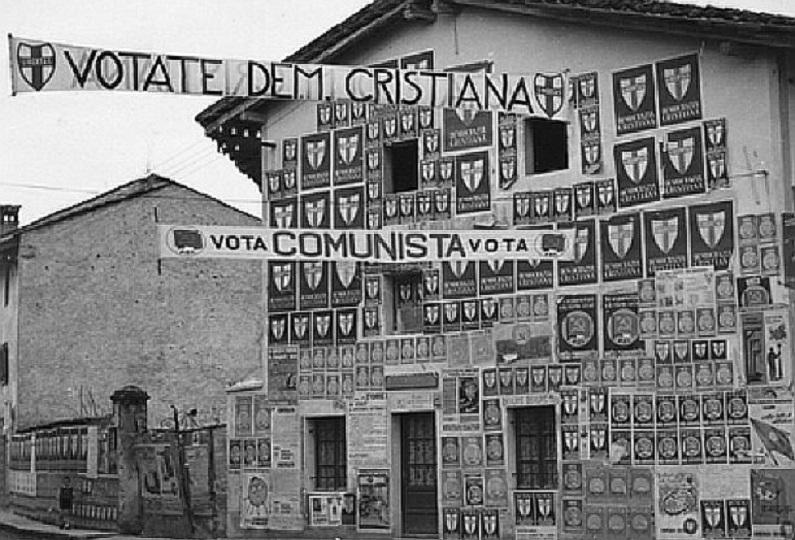 Le prime elezioni della Repubblica Italiana