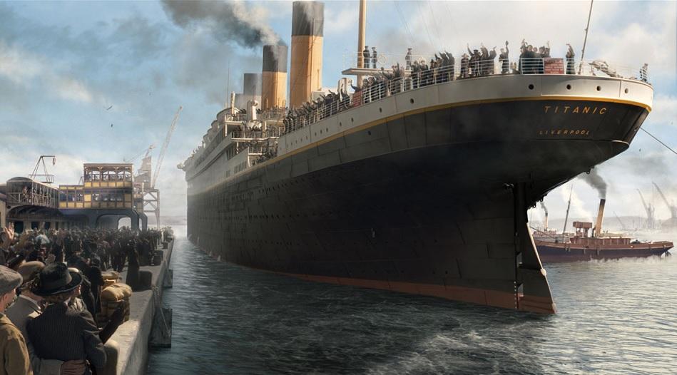 La prima e unica partenza del Titanic – L'invenzione della spilla di sicurezza – Nasce Mamma RAI