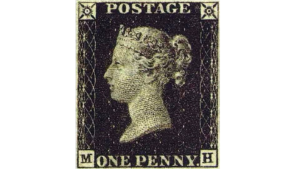 Il primo francobollo della storia