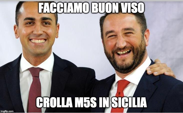 I risultati in sicilia