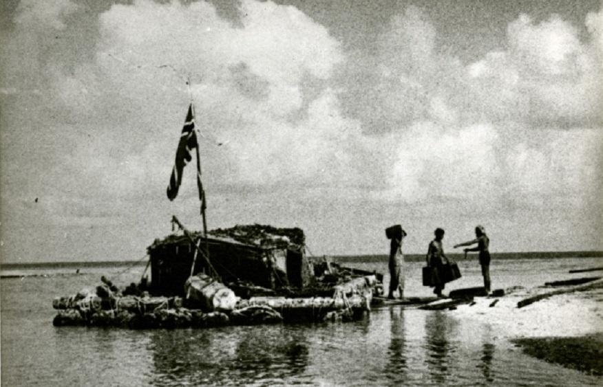 Termina l'avventura del Kon-Tiki