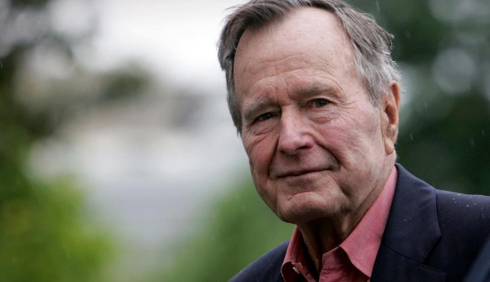La figuraccia di George H. W. Bush
