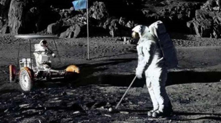 Il primo sport sulla Luna