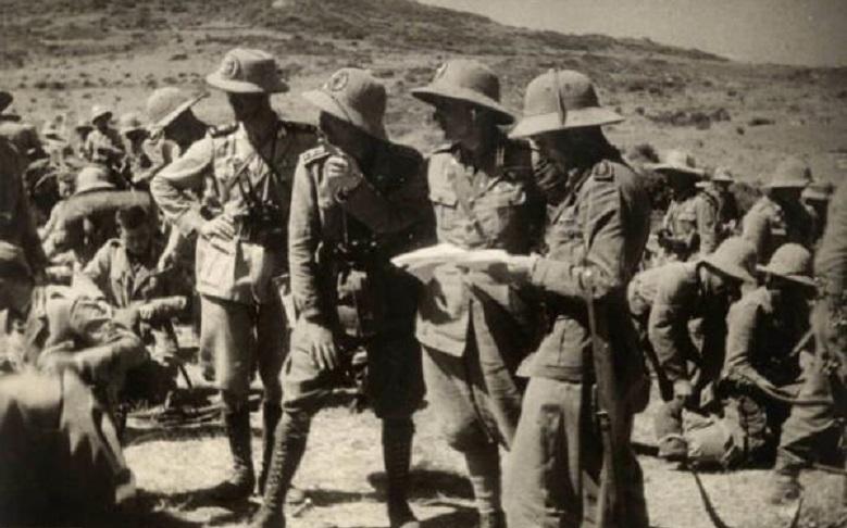 L'ambaradan dell'esercito italiano