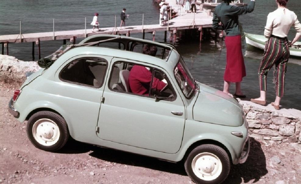 Fiat 500, il mito