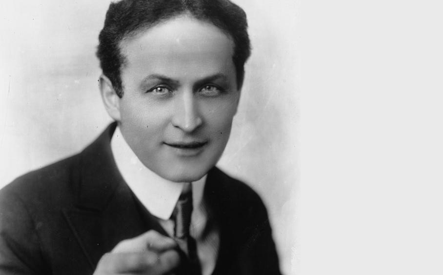 Houdini, l'illusionista dalla parte della scienza