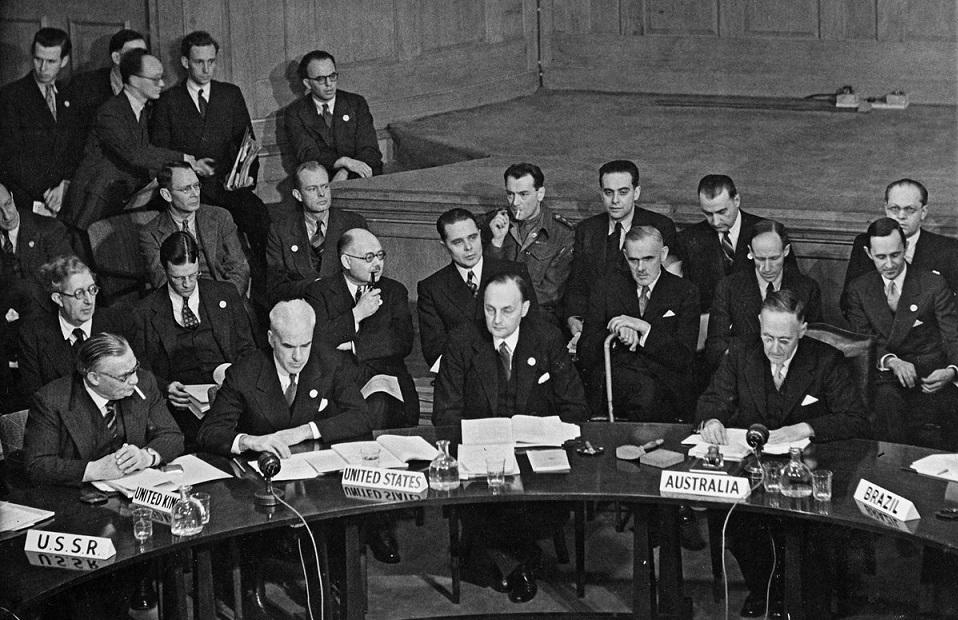 La prima Assemblea Generale dell'ONU