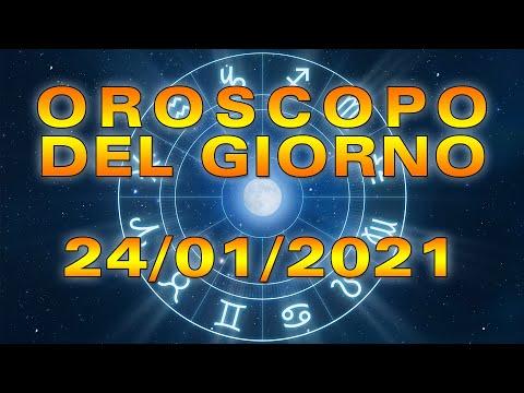 Oroscopo del Giorno Domenica 24 Gennaio 2021!