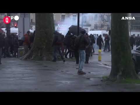 Francia, Nantes: protesta contro la legge sulla sicurezza globale