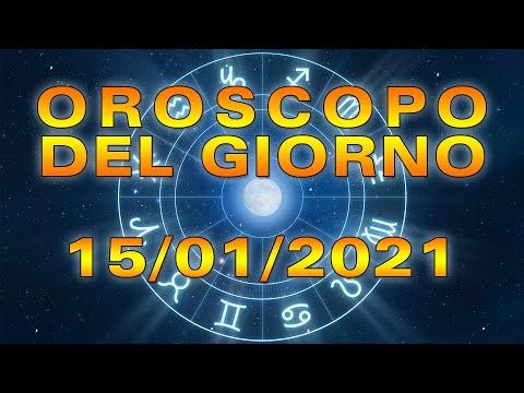 Oroscopo del Giorno Venerdì 15 Gennaio 2021!