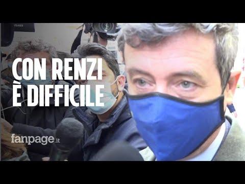 """Crisi di governo, Andrea Orlando (Pd): """"Difficile ricostruire con Renzi"""""""