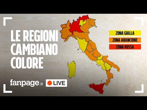 Covid, regioni cambiano ancora colore: intervista a Ippolito (Spallanzani) per parlare di vaccino