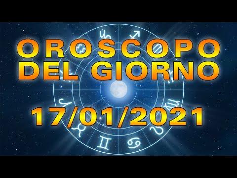 Oroscopo del Giorno Domenica 17 Gennaio 2021!