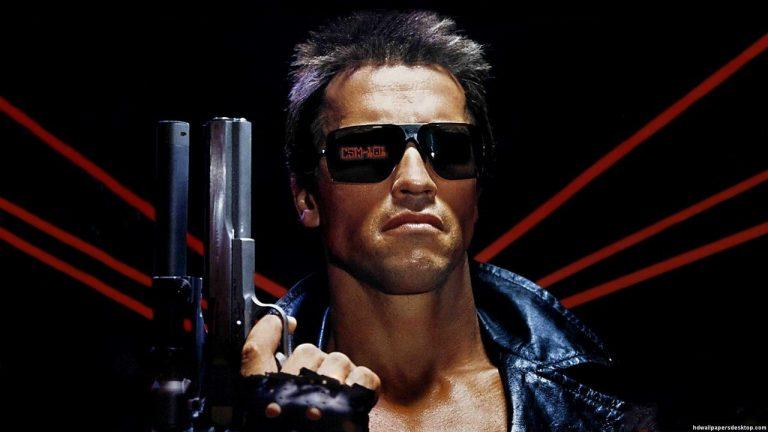 Arnold Schwarzenegger ha la voce da campagnolo per i tedeschi