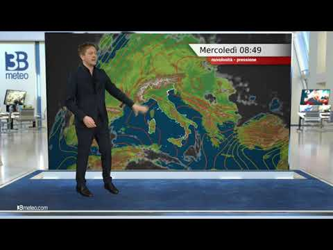 Previsioni meteo Video per mercoledì, 24 febbraio